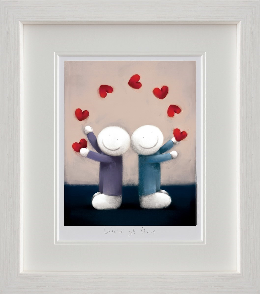 We've Got This by Doug Hyde - Limited Edition on Paper sized 14x18 inches. Available from Whitewall Galleries
